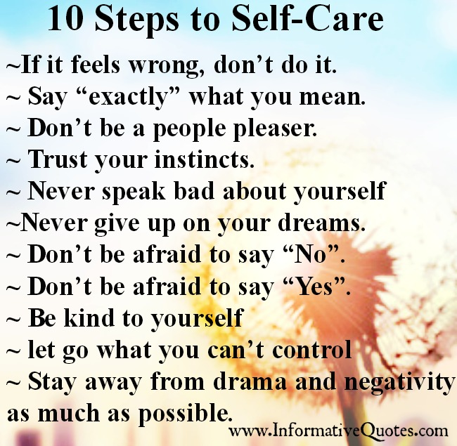 10 Step to Self Care