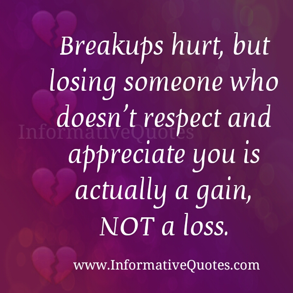 Breakups Hurt