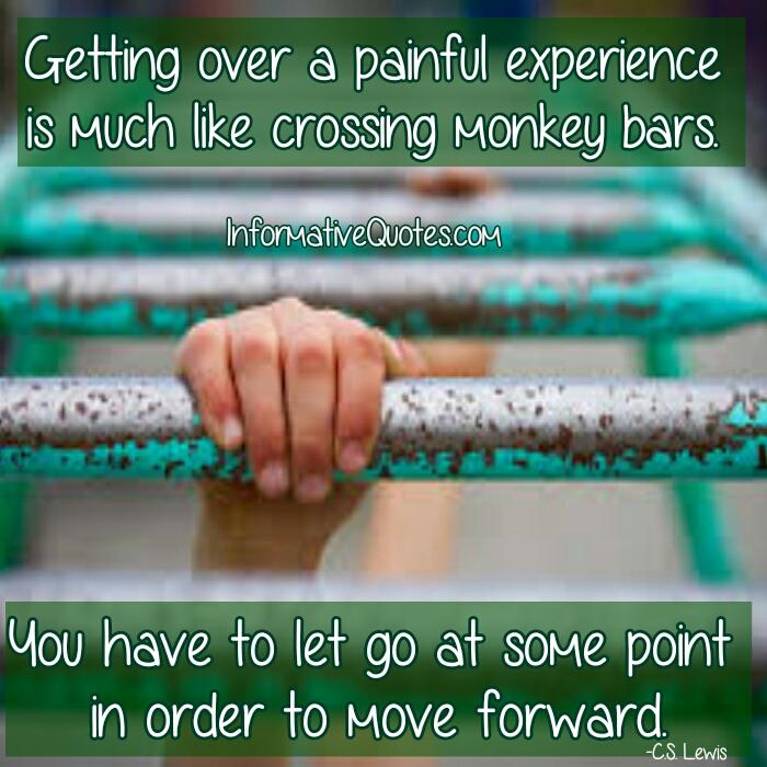 How to get over a painful experience?