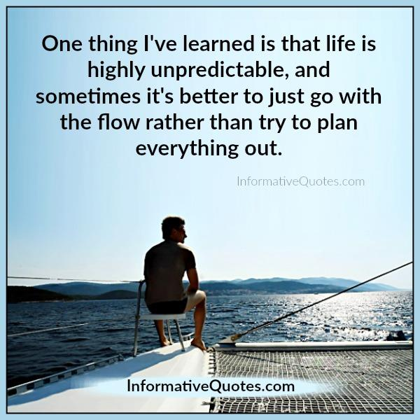 life-is-highly-unpredictable