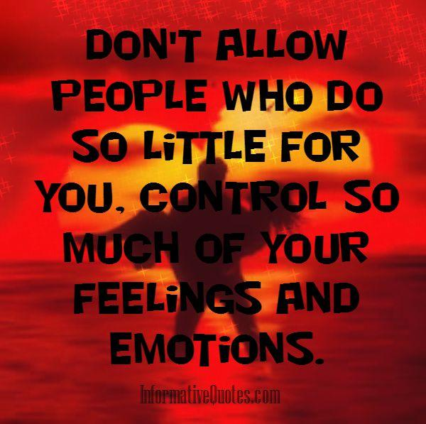 People who do so little for you