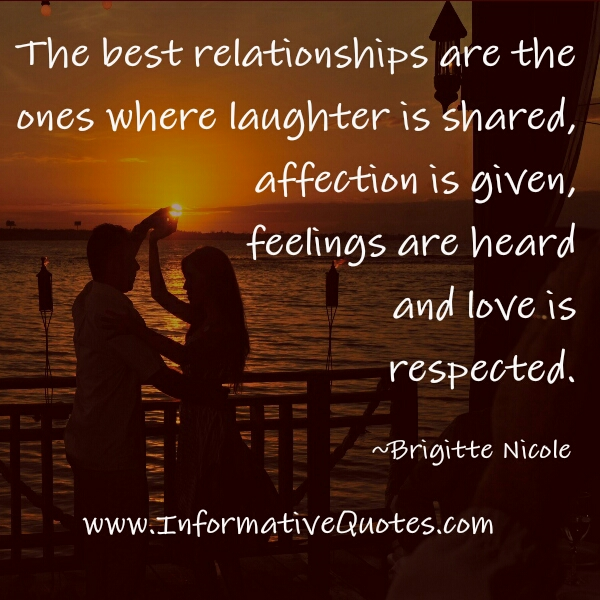 The Best Relationships Informative Quotes