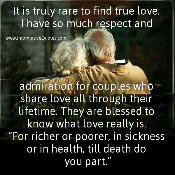 True Love Exists Informative Quotes