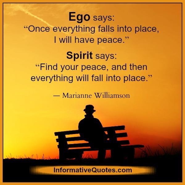 what-ego-spirit-says