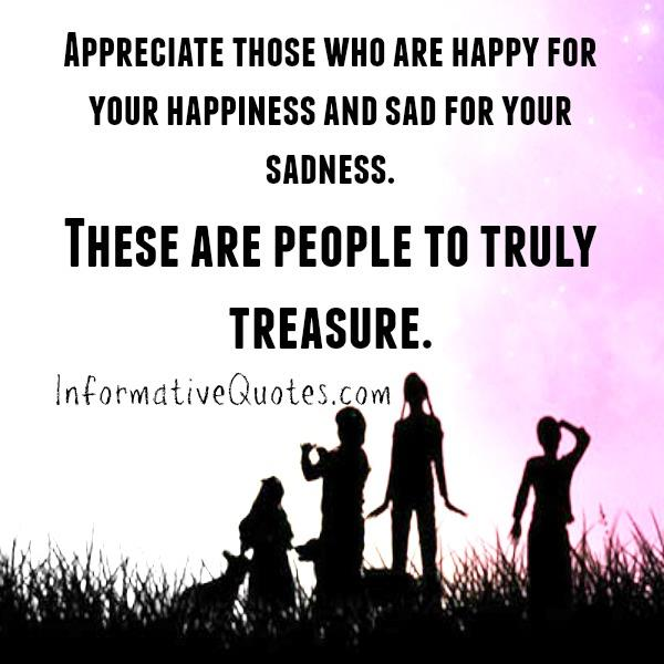 What kind of people to truly treasure in life?