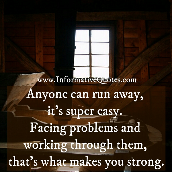 What makes you strong person?