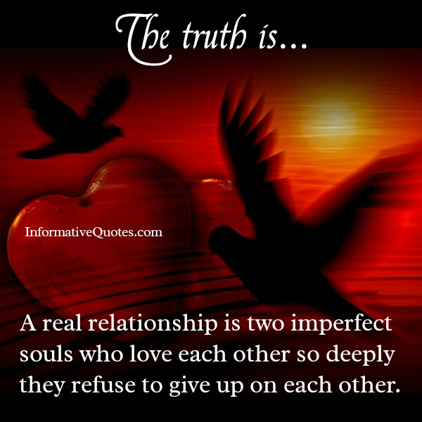 What's a real relationship all about?