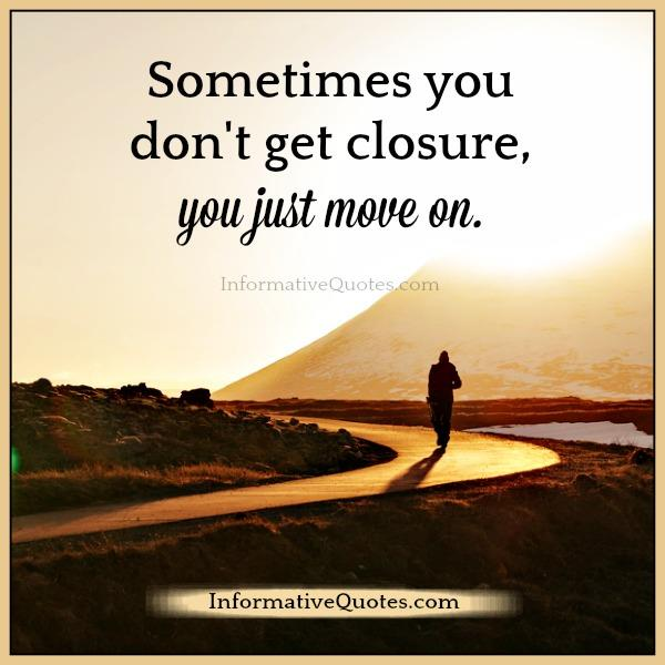you just move on in life informative quotes