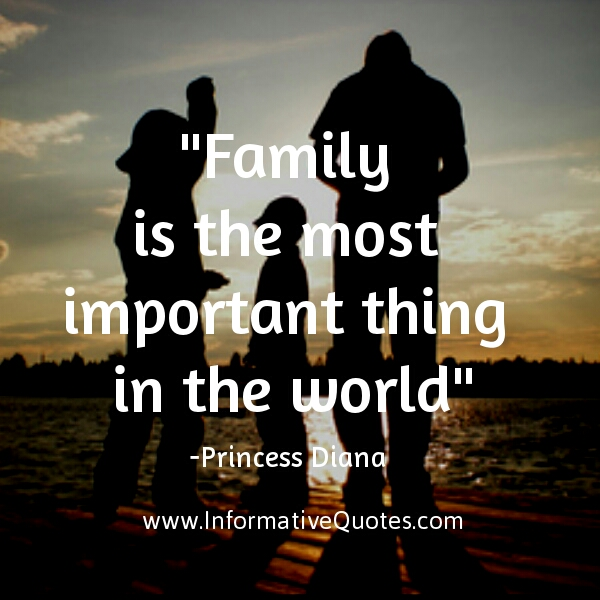 family is the most important in the world