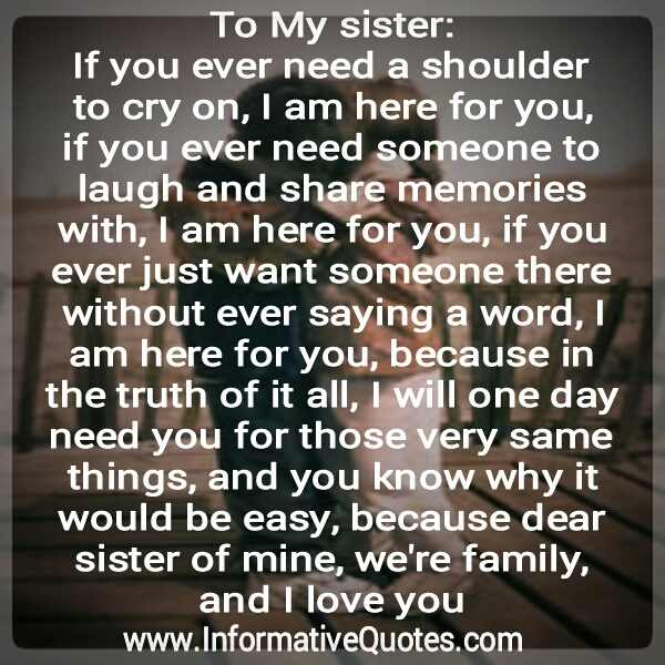 Quotes About Sisters Leaving : Love my sister quotes quotesgram